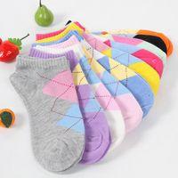 Wholesale Sock Muji - Wholesale-Click! 2015 new Korean fashion ladies cotton prism Muji socks, women casual socks, sports socks free shipping