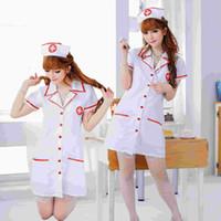 Nurse Costume Men White for sale - Sexy nurse, nurse uniforms temptation role-playing costumes sexy lingerie suit Temptation wholesale behalf