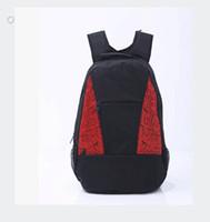 Wholesale Teenager Canvas Backpack - New men women basketball brand sport backpack school bags for teenagers travel bags backpacks bag