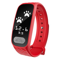 B20 Smart Band BT orologio Fitness Tracker Sonno Monitor chiamate Promemoria IP67 Waterpoof per iOS Android iPhone X Samsung S8 Note 8 Rosso