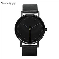 Wholesale men simple style watch - Top Fashion New Men's Simple Style Mens Women Quartz Stock Watch Reloj Hombre Fashion Men Wristwatch Relogio Masculino Casual Watches
