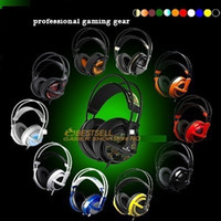 Wholesale Steelseries Siberia White - Wholesale-Steelseries Siberia V2 Gaming Headphone,gaming headpset, Brand new,Free & Fast Shipping