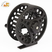 Wholesale Die Fly Fishing - ALC 5 6 7 8 WT Aluminum Frame Spool Fly Fishing Reel Left Right Hand Die Casting Fly Reel Coil Pesca 2+1BB