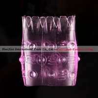 Wholesale Pineapple Penis Sleeve - w1031 Free Shipping Men Sex Products Pineapple-Type Penis Ring Sex Cock Ring Sex Toys Sleeve Adult Products XQ-005
