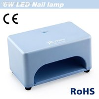 Wholesale Light Cure Price - Wholesale-NEW Design 6W 100-240v professional led nail UV Lamp Gel Curing light nail glue dryer (EU AU US UK Plug) good price