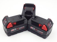 Wholesale Milwaukee Volt Battery - 3pcs x New Milwaukee 48-11-1828 18V 5.0ah 18 Volt M18 Slim Lithium Ion Batteries Li-ion !!
