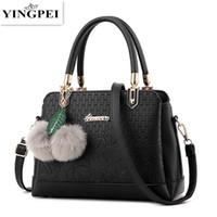 Wholesale Famous Message - Women Bags Luxury Brand Pu Leather Women message Handbags Shoulder Bag Famous Designer Crossbody Bags