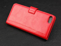Wholesale Iphone4 Flip Covers - PU Wallet Leather Phone Flip Case Cover For Samsung iphone4 4s iphone5 5s
