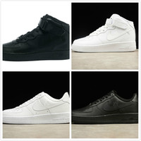 Wholesale Trainer Force Shoes - 2017 Sneaker Force Trainers air Casual Outdoor One 1 Dunk Shoes Black Sports Skateboarding Forces Ones Shoes Men Women High Low Cut AF1