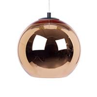 Wholesale Glass Modern Ceiling Chandelier - Tom Modern dixon Chrome Glass Ball Ceiling Lighting pendants lamp Chandelier