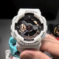 Wholesale Butterfly Shocks - Top Quality men Sports led Watches LED Digital 110 G 100 Wristwatch Boy girl 200m Waterproof Shock Watch Military Quartz Men Watches + box