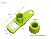 Wholesale Plastic Cutting Press - Free shipping Creative kitchen utensils household mill Multifunction mill is cut garlic press