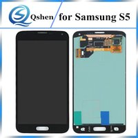 Wholesale One Display Screen - High Copy Quality Repair Parts Screen Replacement For Samsung Galaxy S5 LCD Display Digitizer Assembly One By One Check