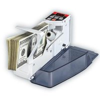 Wholesale Financial Wholesaler - Hot Pocket Money counter Portable Mini Handy Money Currency Counter Cash Bill Counting Machine AC100-240V Financial Equipment