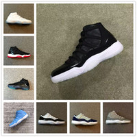 Wholesale Style Pu Leather - retro 11 72 10 gamma blue low bred legend blue George town pantone low concord cool grey classic style sneakers Original Factory Version
