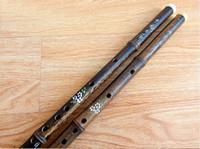 flûte en porcelaine achat en gros de-Flûte en bambou Chinois Dizi Professionnel Pan Flauta Instruments de Musique Touches F / G Livraison gratuite flûte en bambou