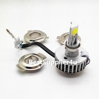 Wholesale 24W LM Motorcycle LED Headlight sides degree lighting All in one driver High quality