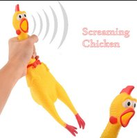 Adore Pet Dog Toys gallo Atraer Puppy Dog and Cat Pet Squeak Toys Screaming Rubber Chicken Pet Toys 3 Tamaño YYA862