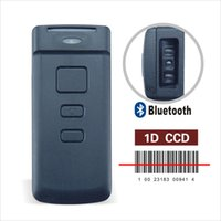 Wholesale Barcode Scanner For Android - Mini CT20 1D CCD Wireless Pocket Bluetooth POS Barcode Scanner for APPLE iOS iPad iPhone Android Mobile Phone Tablets Windows