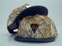 Wholesale leopard animal hat - Hater Snapback Caps, Hater Tiger Snapback Cap ,Hater Leopard Hat Flower Headwear,Cap Hats With Animals Pattern ,