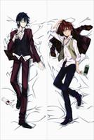 Wholesale Hot Anime Pillowcase - Free Shipping japanese hot Anime Dakimakura K charactor Yata Misaki & Fushimi Saruhiko hugging body pillowcase cover