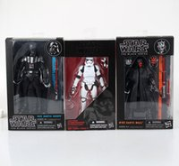 Wholesale Star Wars Box Sets - Star Wars Stormtrooper Darth Maul 15cm 1 pcs set Boxed PVC Action Figure Toy