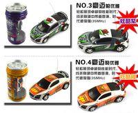 bprice-bprice prices - Mini-Racer Remote Control Car Coke Can Mini RC Radio Remote Control Micro Racing Car DHL Shipping!!!
