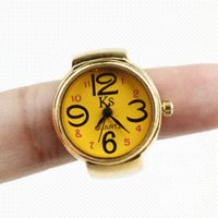 Wholesale Gold Ring Watch For Women - car New Arrival Gold Ring Watch Women Finger Watches Ladies Casual Whatch, Dropshipping watch hat watch face for beading