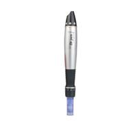 Wholesale Electrical Derma Roller Pen - The newest can changeable head derma roller electrical derma stamp pen medical version vibrating Dr.pen