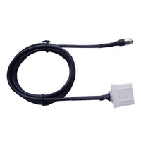 Wholesale S5Q Car AUX In Input Female Jack Interface Adapter Cable For Mazda MX RX8 AAAFOV