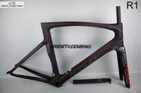 mate r1 al por mayor-2016 cuadro caliente del camino del carbono de la venta R1, bicicleta llena de la fibra de carbono con el marco de la bici del carbono PF30 para el envío libre