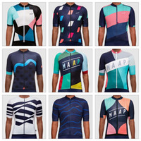 Wholesale Lycra Tops For Women - MAAP Detour Pro Jersey 2017 Cycling Tops Short Sleeves Summer Style MTB Ropa Millot For Men Women Bike Wear Size XS-4XL 9 Colors