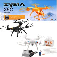 2015 Nouvelle Version Syma X8C 2.4G 4ch 6 Axe Venture avec 2MP Caméra Grand Angle RC Quadcopter RTF Mode2