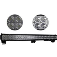Wholesale Cree Led Motorcycle Driving Lights - 28 Inch 180W Cree LED Work Light Bar for Indicators Motorcycle Driving Offroad Boat Car Tractor Truck 4x4 SUV ATV Flood 12V