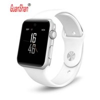Wholesale Modern Android - GUANSHAN DM09 bluetooth Smart Watch HD Screen Support SIM Card Wearable Devices SmartWatch For apple Android pk dz09 gt08 watch