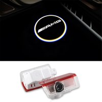 Wholesale Light For Mercedes - Welcome Laser Projector Logo Door Ghost Shadow LED Light for Mercedes benz w212 w166 w176 E200 E300 E260 for AMG