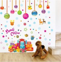 Wholesale Removable Wallpaper Prices - Christmas decoration removable wall stickers art decals mural DIY wallpaper for room decal 50 * 70cmcazzzy price