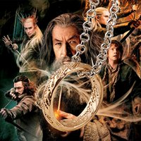 Wholesale wholesale jewelry direct - Hot Movie Jewelry The Lord of the Ring Gold And Silver Pendant Necklace Alloy Chain Necklaces Factory Direct Sale My precious necklaces