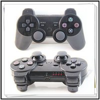 Wholesale Wireless Bluetooth Sixaxis - DHL Free Sensitive Bluetooth Wireless Controller Game Controller Joysticks For SONY PS3 Available Real SixAxis Without Packaging