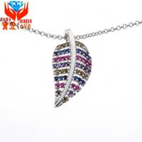 Wholesale Plant Processes - S925 Sterling Silver Pendant Necklace Silver jewelry manufacturers of high-end descendants silver jewelry silver jewelry processing