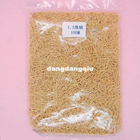 Wholesale Nail Art String Beads - Wholesale-Free-shipping Gold metal chain for nail decoration String Beads Nail Art Decoration Tiny Beads Chain Metal -10meters bag