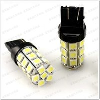 Wholesale Additional Lights - Promotion 10pcs 27LED 7440 7443 3156 3157 27 SMD 5050 27 LED Auto Turn Signal Brake Tail Light Backup Bulbs Rear Lamp