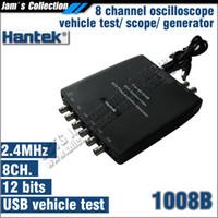 Wholesale Hantek Automotive Oscilloscope - Hantek 1008B Automotive Diagnostic Equipment vehicle testing oscilloscope programmable generator 8 channels automotive testing
