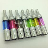 ingrosso mini pro clearomizer-Mini protank sigaretta elettronica atomizzatore clearomizer 2ml mini pro serbatoio e sigarette Pyrex atomizzatori di vetro clearomizers e cigs