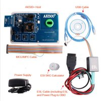 Wholesale Benz Eis - AK500+ Key Programmer For Mercedes Benz With EIS SKC Calculator With Database Hard Disk