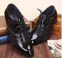 Wholesale Dress Shoes For Men Size - in stock! 2014 new men dress shoes men leather shoes oxford shoes for men business shoes men, size:38-44