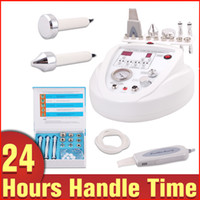Wholesale Microdermabrasion Beauty Machine - Brand New 3in1 Diamond Microdermabrasion Dermabrasion Peeling Ultrasonic Tendering Skin Scrubber Face Lifting Beauty Machine Care