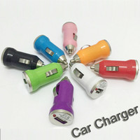 Wholesale Smartphones S3 - USB Car Charger Universal USB Adapter Colorful Car Charger for iPad iPhone 5 5s 6 6S samsung s3 s4 s5 Smartphones DHL Free