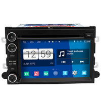 Wholesale Fusion Mp3 Player - Winca S160 Android 4.4 Car DVD GPS Headunit Sat Nav for Edge Expedition Fusion Shelby GT500 Mustang 2007 - 2009 with Radio Wifi 3G OBD Video