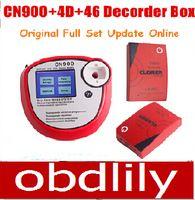 programador de llave maestra al por mayor-CN900 Master Key Programmer + 4D cloner box +46 Cloner Box 4D Decoder 46 Decoder Arrival Auto Key Programmer